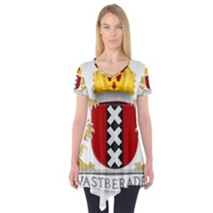 Amsterdam Coat Of Arms  Short Sleeve Tunic