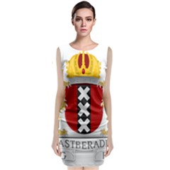 Amsterdam Coat Of Arms  Classic Sleeveless Midi Dress