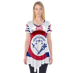 Flag Of Cincinnati Short Sleeve Tunic