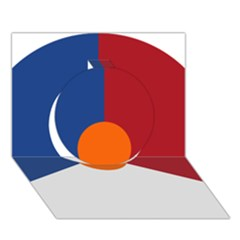Roundel Of The Royal Netherlands Air Force Circle 3D Greeting Card (7x5)