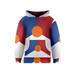 Roundel Of The Royal Netherlands Air Force Kids  Pullover Hoodie