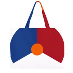 Roundel Of The Royal Netherlands Air Force Large Tote Bag