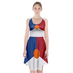 Roundel Of The Royal Netherlands Air Force Racerback Midi Dress