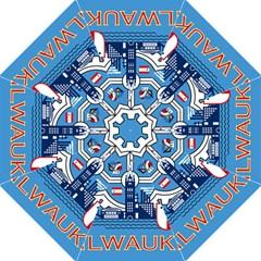 Flag Of Milwaukee Hook Handle Umbrellas (Large)