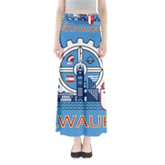 Flag Of Milwaukee Maxi Skirts