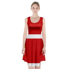 Flag Of The Soviet Union  Racerback Midi Dress