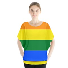 Lgbt Flag Map Of Ohio  Blouse