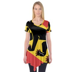 Coat Of Arms Of Bern Canton  Short Sleeve Tunic