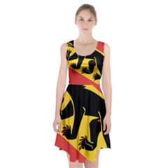 Coat Of Arms Of Bern Canton  Racerback Midi Dress