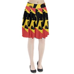 Coat Of Arms Of Bern Canton  Pleated Skirt