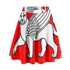 Seal Of Samarkand  High Waist Skirt