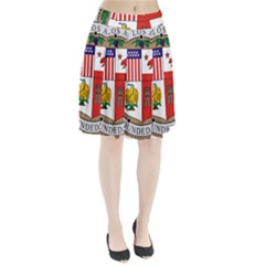 City Of Los Angeles Seal Pleated Skirt