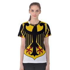 Coat Of Arms Of Germany Women s Cotton Tee