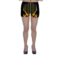 Coat Of Arms Of Germany Skinny Shorts