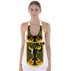 Coat Of Arms Of Germany Babydoll Tankini Top