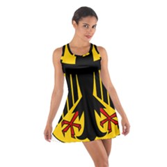 Coat Of Arms Of Germany Cotton Racerback Dress