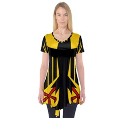 Coat Of Arms Of Germany Short Sleeve Tunic
