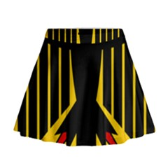 Coat Of Arms Of Germany Mini Flare Skirt
