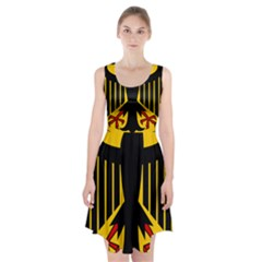 Coat Of Arms Of Germany Racerback Midi Dress