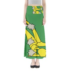 Starry Plough Flag Maxi Skirts