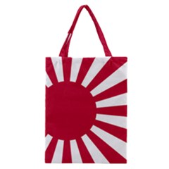 Ensign Of The Imperial Japanese Navy And The Japan Maritime Self Defense Force Classic Tote Bag