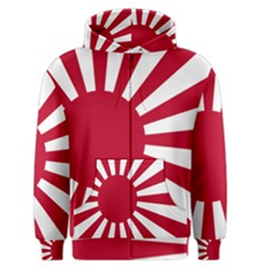Ensign Of The Imperial Japanese Navy And The Japan Maritime Self Defense Force Men s Zipper Hoodie