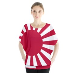 Ensign Of The Imperial Japanese Navy And The Japan Maritime Self Defense Force Blouse