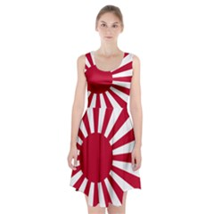 Ensign Of The Imperial Japanese Navy And The Japan Maritime Self Defense Force Racerback Midi Dress