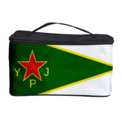 Flag Of The Women s Protection Units Cosmetic Storage Case