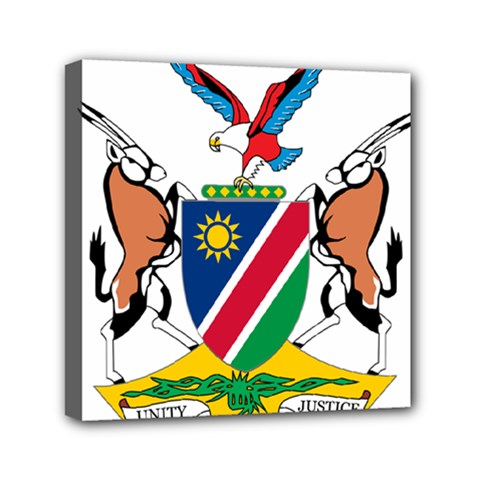 Coat Of Arms Of Namibia Mini Canvas 6  x 6
