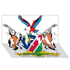 Coat Of Arms Of Namibia PARTY 3D Greeting Card (8x4)