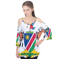 Coat Of Arms Of Namibia Flutter Tees
