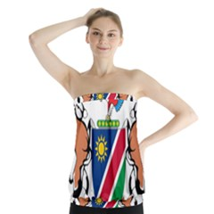 Coat Of Arms Of Namibia Strapless Top