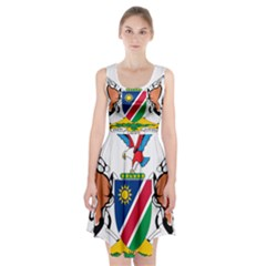Coat Of Arms Of Namibia Racerback Midi Dress