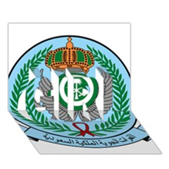 Emblem Of The Royal Saudi Air Force  GIRL 3D Greeting Card (7x5)