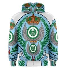 Emblem Of The Royal Saudi Air Force  Men s Zipper Hoodie