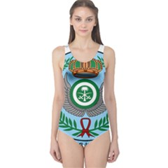 Emblem Of The Royal Saudi Air Force  One Piece Swimsuit