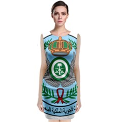 Emblem Of The Royal Saudi Air Force  Classic Sleeveless Midi Dress