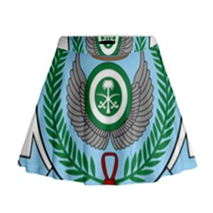 Emblem Of The Royal Saudi Air Force  Mini Flare Skirt
