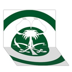 Roundel Of The Royal Saudi Air Force Clover 3D Greeting Card (7x5)