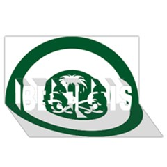 Roundel Of The Royal Saudi Air Force BEST SIS 3D Greeting Card (8x4)
