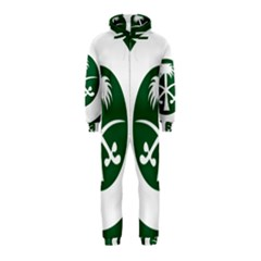 Roundel Of The Royal Saudi Air Force Hooded Jumpsuit (Kids)