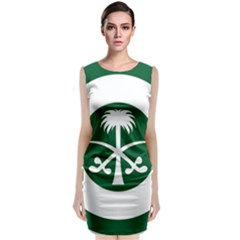 Roundel Of The Royal Saudi Air Force Classic Sleeveless Midi Dress