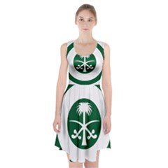 Roundel Of The Royal Saudi Air Force Racerback Midi Dress