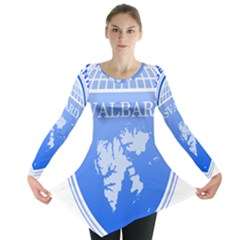 Coat Of Arms Of Svalbard Long Sleeve Tunic