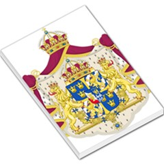 Greater Coat Of Arms Of Sweden  Large Memo Pads