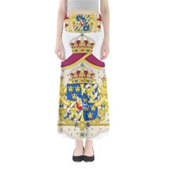 Greater Coat Of Arms Of Sweden  Maxi Skirts