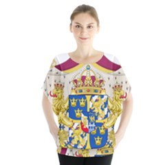 Greater Coat Of Arms Of Sweden  Blouse