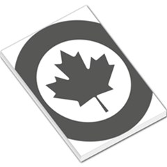 Low Visibility Roundel Of The Royal Canadian Air Force Large Memo Pads
