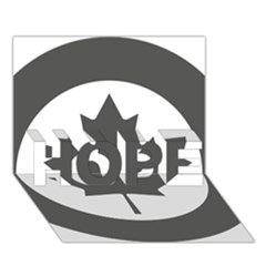 Low Visibility Roundel Of The Royal Canadian Air Force HOPE 3D Greeting Card (7x5)
